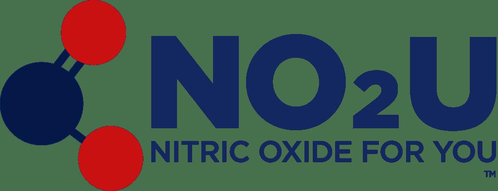 NO2U Nitric Oxide For You logo